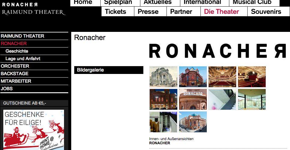 ローナッハー劇場(Ronacher)