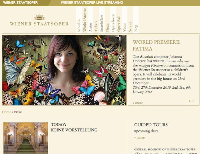ウィーン国立歌劇場(Wiener Staatsoper)