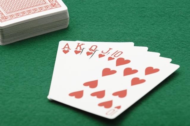 ラスベガス・カジノ・他人のプレーを観察