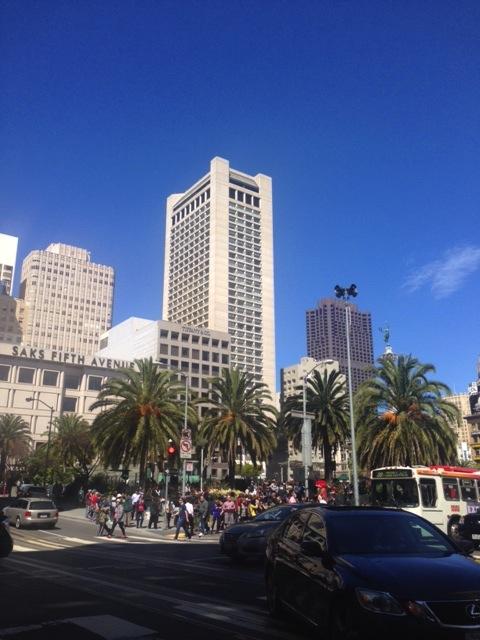 サンフランシスコのダウンタウン