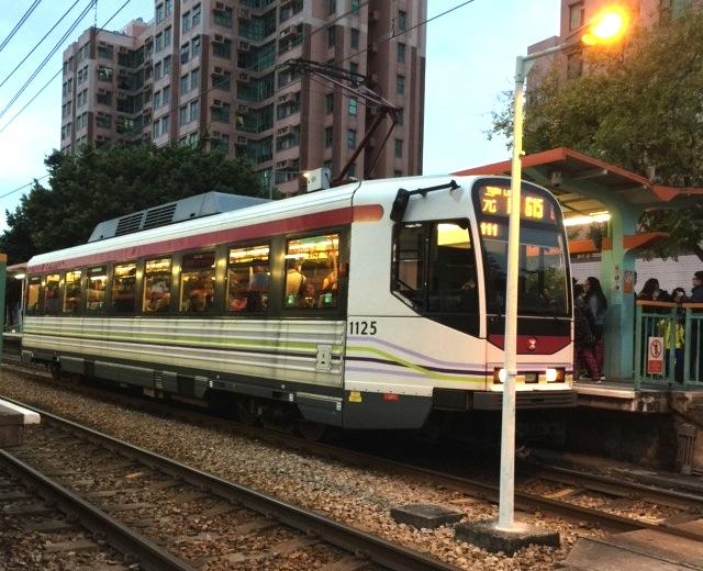 香港の路面電車(広東語では軽鉄)