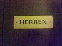 HはHerren(ヘレン)男性用トイレ