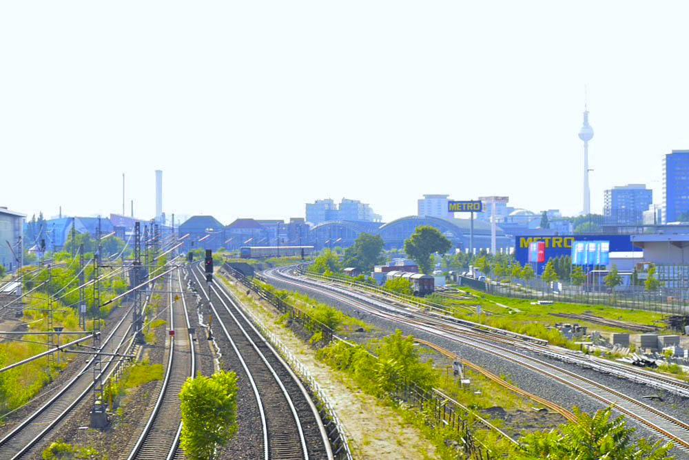 ドイツ・ベルリン・ワルシャワ通り駅