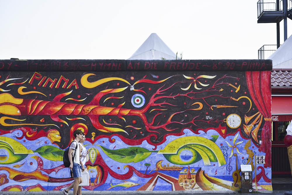 ドイツ、ベルリンの壁、イースト・サイド・ギャラリー