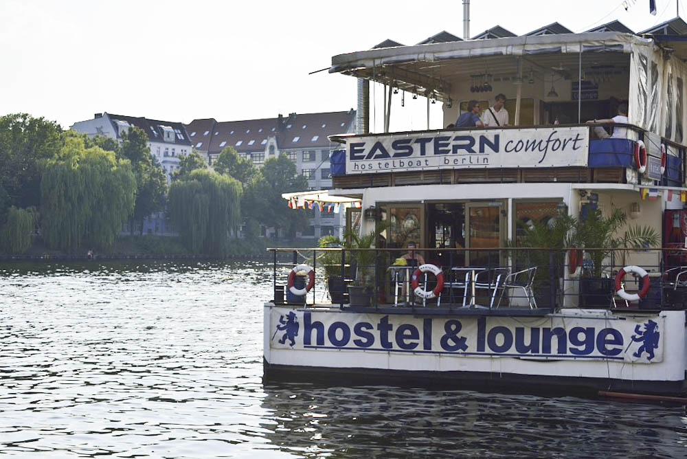 ドイツ、ベルリンの壁、ボート・ホステル