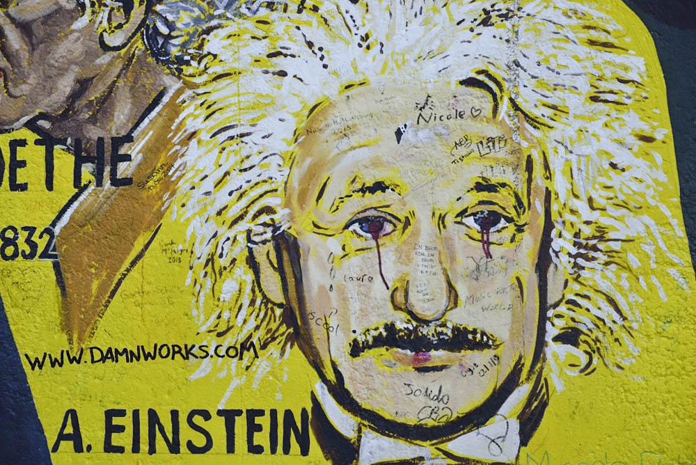 ドイツ、ベルリンの壁アート