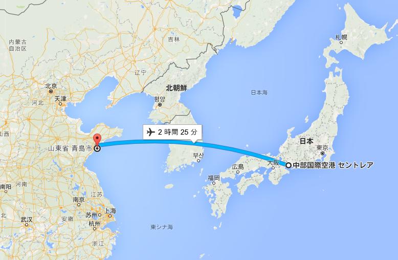 中国青島初詣