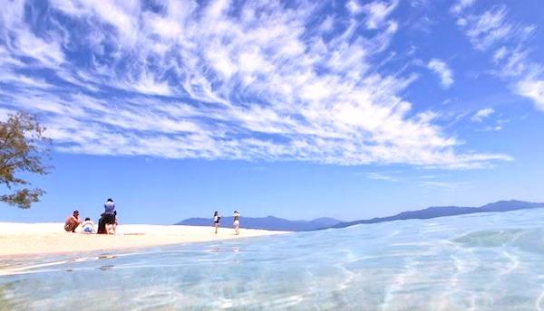 1日限定100人の島、ノーマンビー島の海がすごい