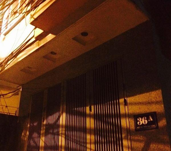ハノイの激安アパート