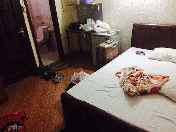 ハノイのアパートは部屋の掃除サービスがある