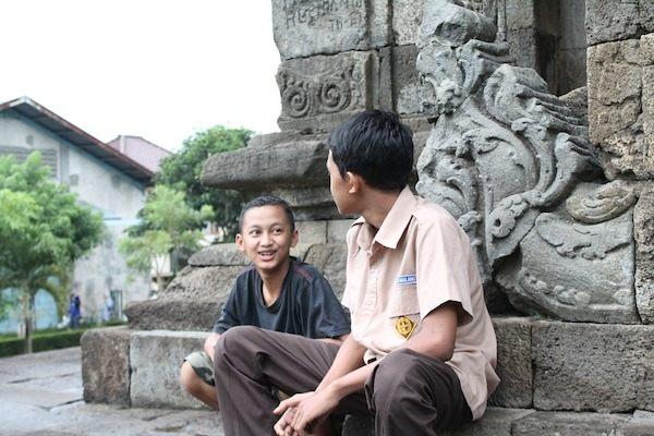 カンボジアでは英語が通じる