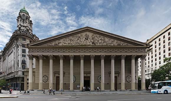 現ローマ法王フランシスコの出身の大聖堂