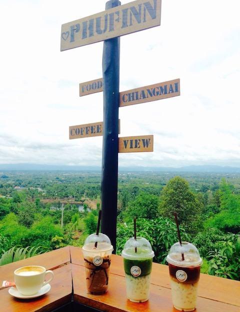 グランドキャニオン近くのカフェPhufinn Chiangmai