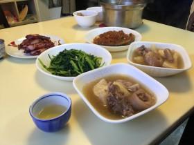 台湾の昼食