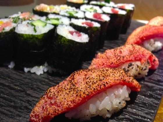 バンコクの日本料理、寿司