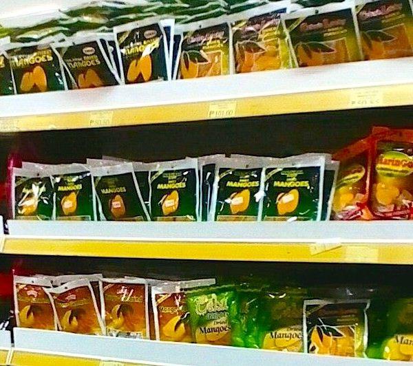 セブ島のお土産ドライマンゴー