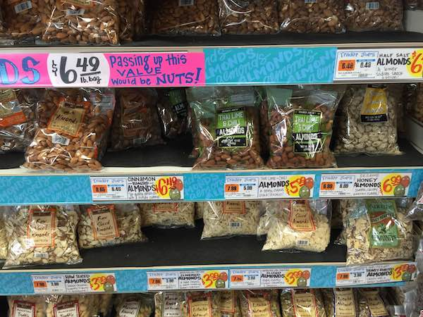 ニューヨークのお土産ナッツ