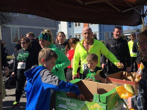 マラソン途中の食べ物