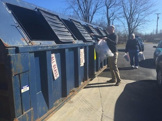 アメリカでリサイクル