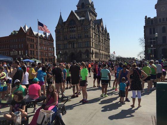 マラソンの風景