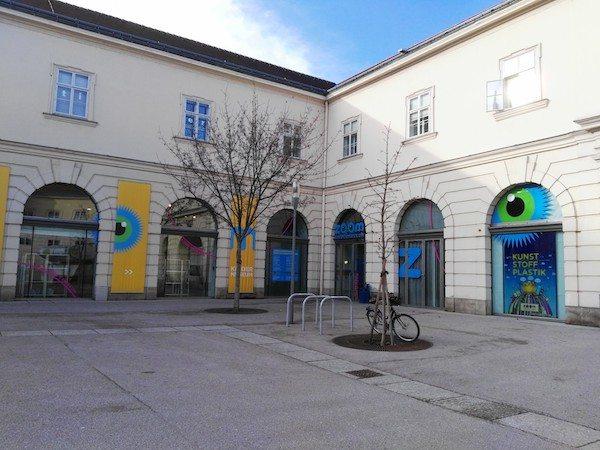 ウィーンのミュージアムクオーター