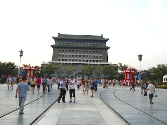 北京の前門