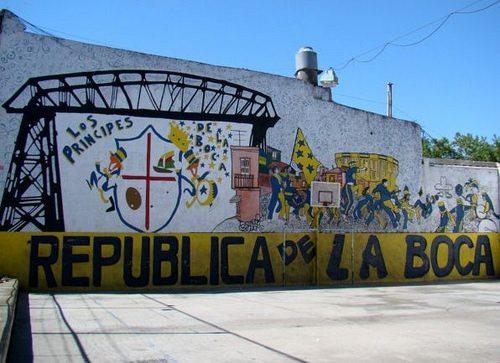 ブエノスアイレス市ボカ地区