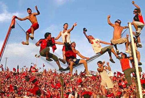ブエノスアイレスでサッカー