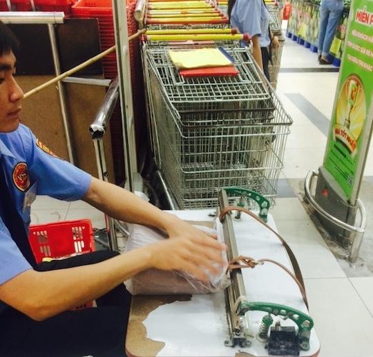 ベトナムのスーパーは戦いだ!