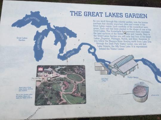 ナイアガラの滝で公園散策