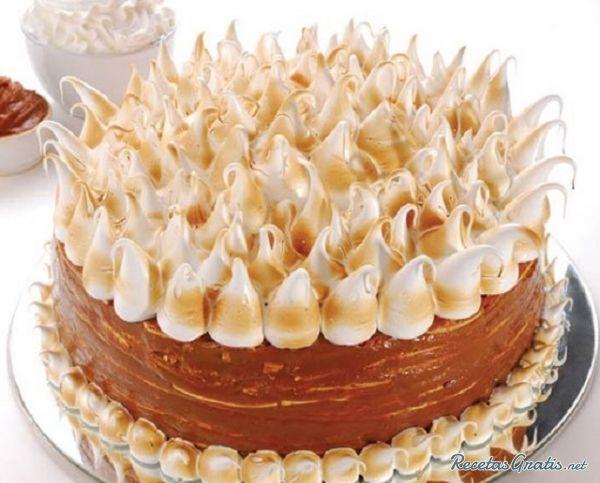 ドゥルセ・デ・レチェを使ったケーキ