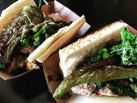 アメリカングルメのローストポークサンドイッチ