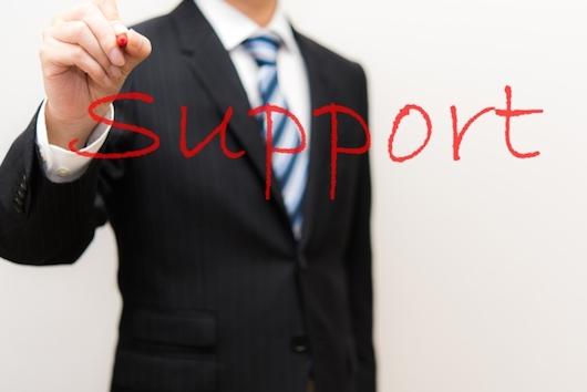 日本人スタッフのサポート