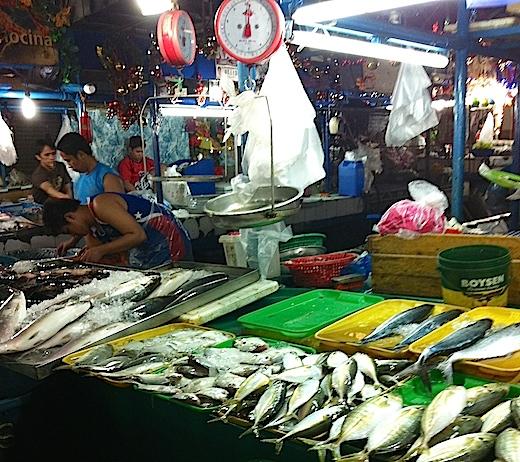 マニラの市場(マーケット)