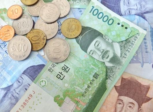 韓国での給料