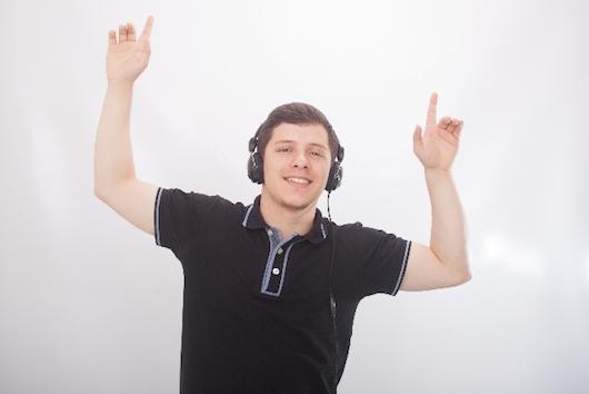 音楽を聞きながら仕事