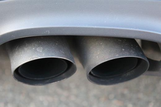 セブ島の排気ガス