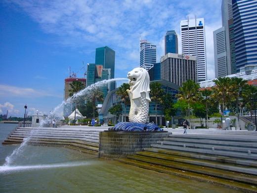 セブからシンガポールへ旅行