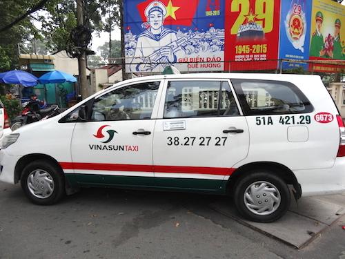 ホーチミンのタクシー