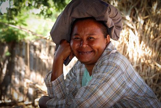 ミャンマー人は親切