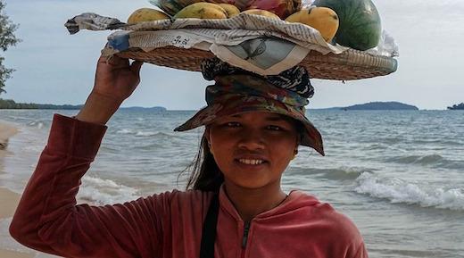 カンボジア人からの質問