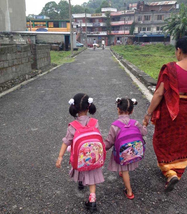 ネパールの学校