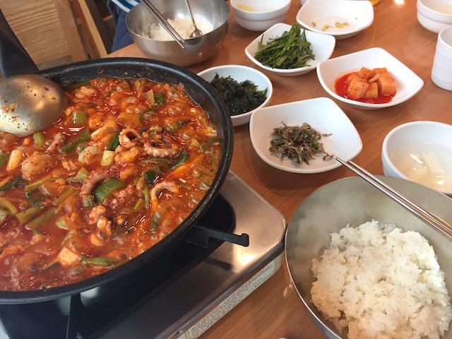 韓国料理が美味しい