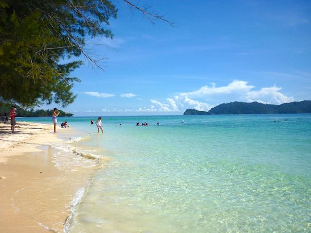 マレーシアのマヌカン島