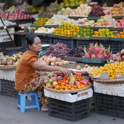 ミャンマーのフルーツ