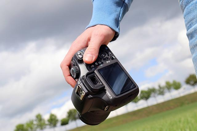 イギリスでカメラマン