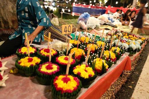ソンガン祭用の花