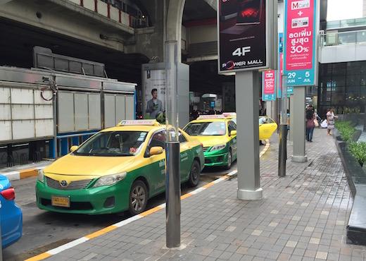 タイ・バンコクのタクシーの乗り方