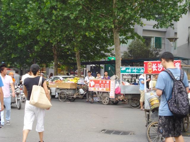 北京の屋台の注意点