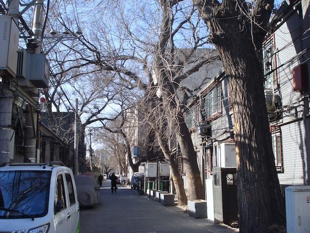 北京の砖塔胡同